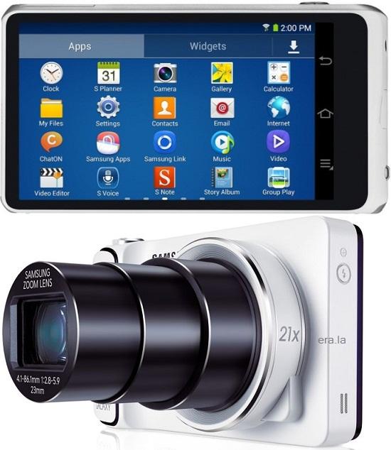 Samsung Galaxy Camera 2 GC200 Specs - Technopat Database