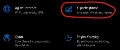 Windows 10 tema değiştirme