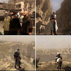 Assasin's Creed 1 favori oyun içi görüntülerim