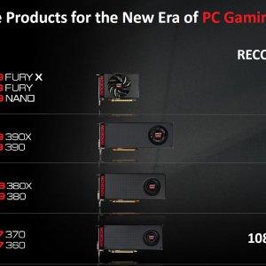 AMD Ekran Kartları Konumlandırması