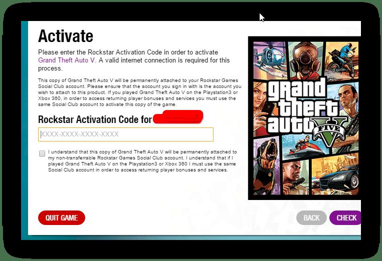 rockstar activation key free