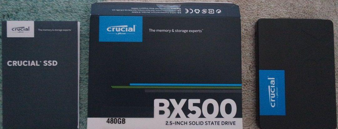 Crucial BX500 480 GB SSD İncelemesi - Technopat Sosyal