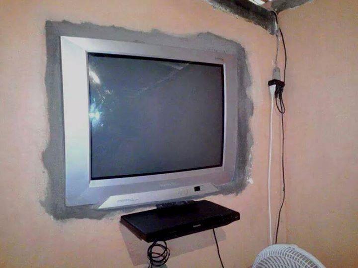 Duvara tv montaj dedikleri bu olsa gerek technopat sosyal - Television pequena plana ...