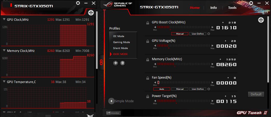 Asus Strix GTX 1050 Ti Overclock Ayarı Önerisi - Technopat
