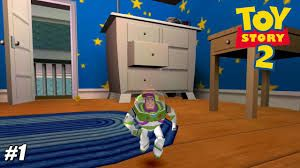 Toy Story 2: Buzz Lightyear to the Rescue - Playthrough PSX / PS1 / PS One  1080P (Beetle) PART 1 - YouTube