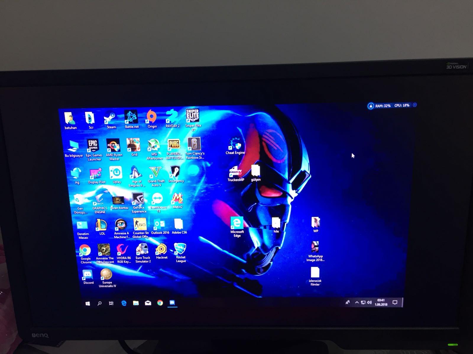 BenQ XL2411z 144 Hz'de ekran kararma sorunu - Technopat Sosyal