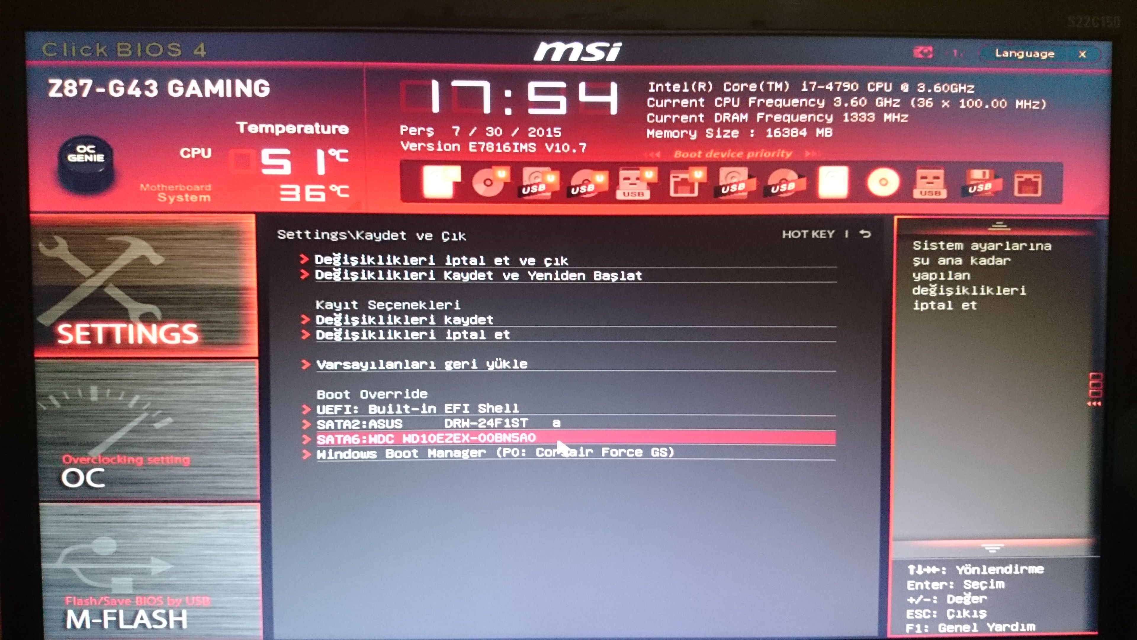Reboot and select proper boot device windows 10 asus