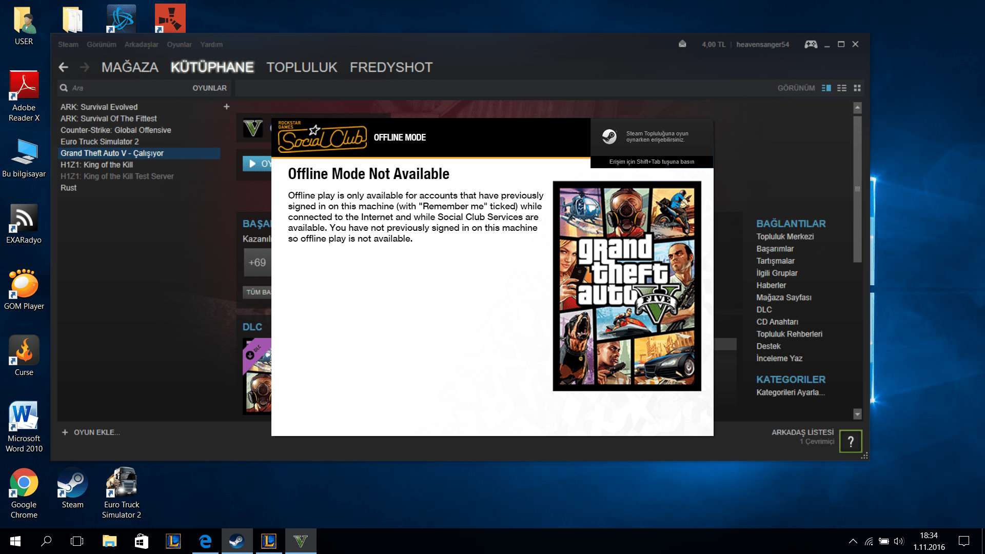 Gta V Rockstar Update Service Is Unavailable Code 202