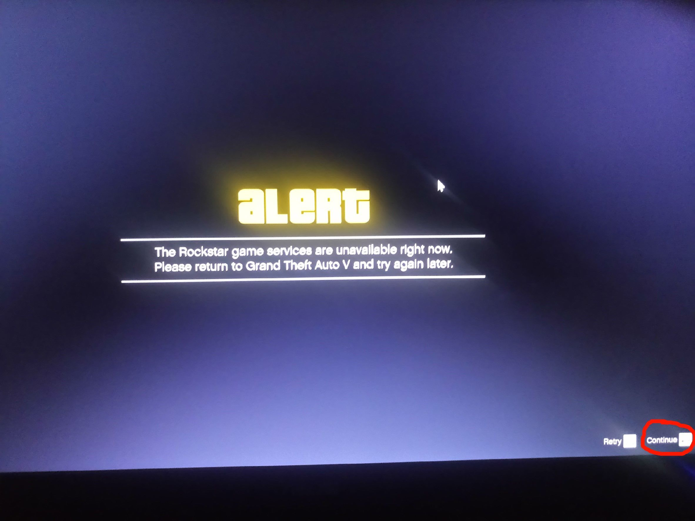 rockstar game services are unavailable right now pc | Gameswalls org