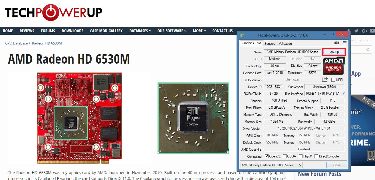 ATI Mobility Radeon HD 5650: özellikler, tanım ve yorumlar