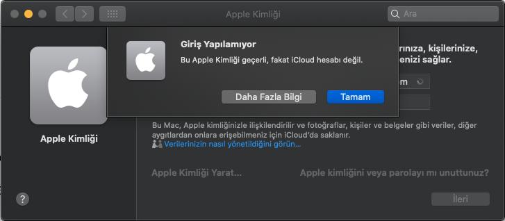 Apple kimliği geçerli fakat iCloud hesabı değil.png