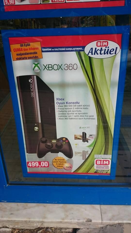 Bim'den Xbox 360 499 TL alınır mı? - Technopat Sosyal