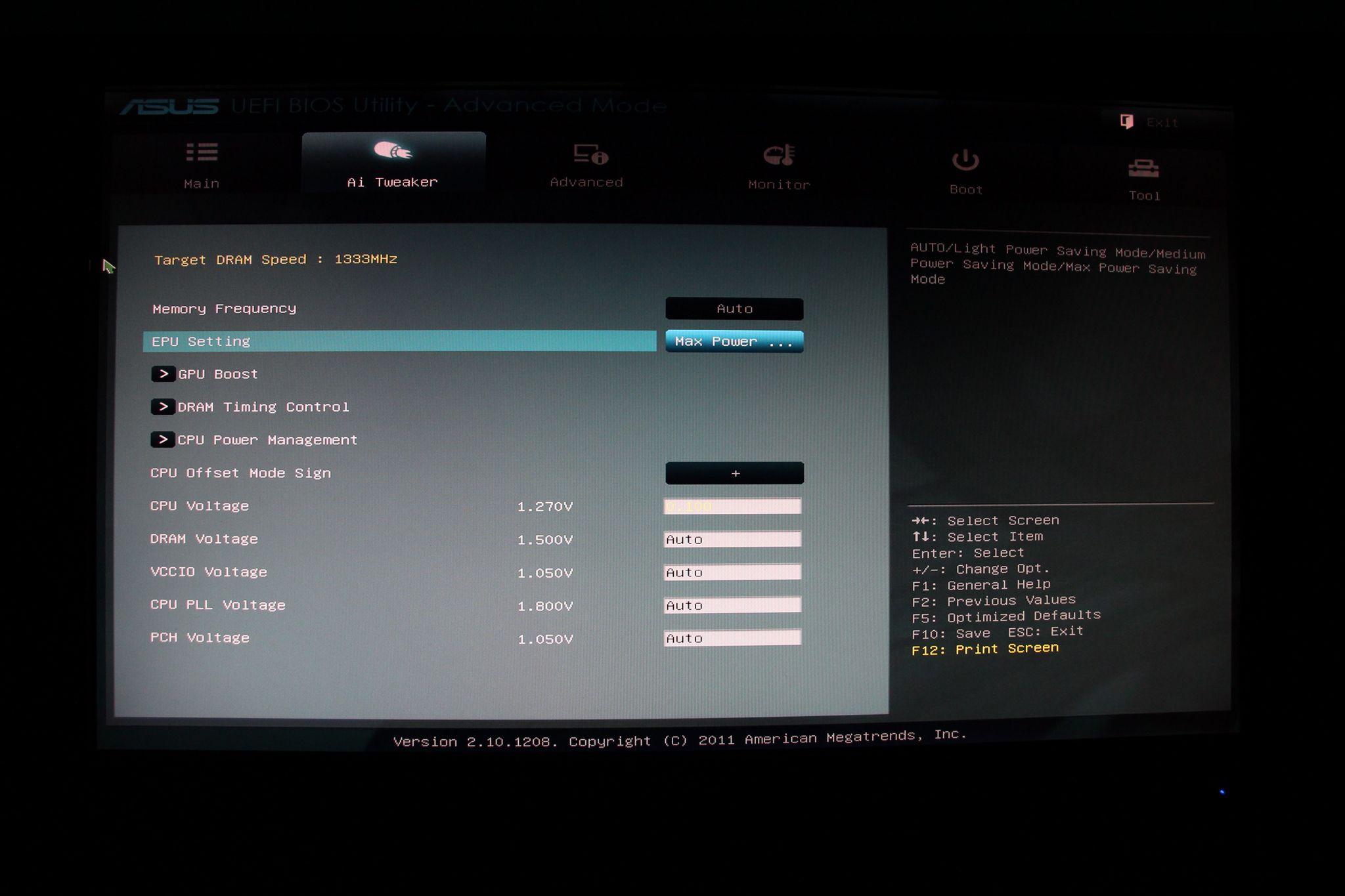 İ3 2100 ve Asus P8H61-M LX Tabanlı Sistemde Overclock Nasıl Yapılır