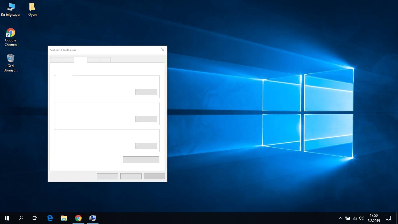 Windows 10 yazılar gözükmüyor