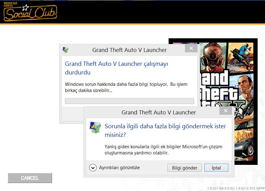 GTA V Launcher Çalışmayı Durdurdu Sorunu - Technopat Sosyal