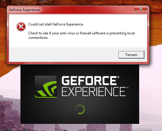 geforce experience not starting with windows