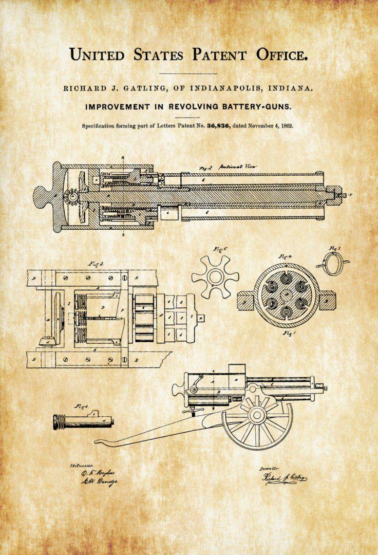 gatling-gun-patent-1862-patent-print-wall-decor-gun-art-firearm-art-machine-gun-gatling-patent...jpg