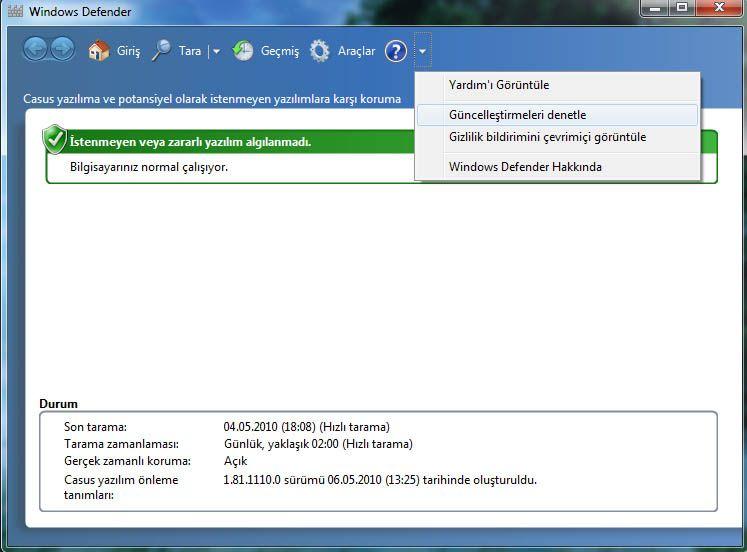 Bilgisayara casus program yükleme - Casus yazılım önleme yazılımı yükleme ve çalıştırın