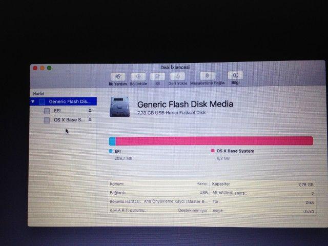 Çözüldü]macOS Sierra Kurulumda Disk Gözükmeme Sorunu