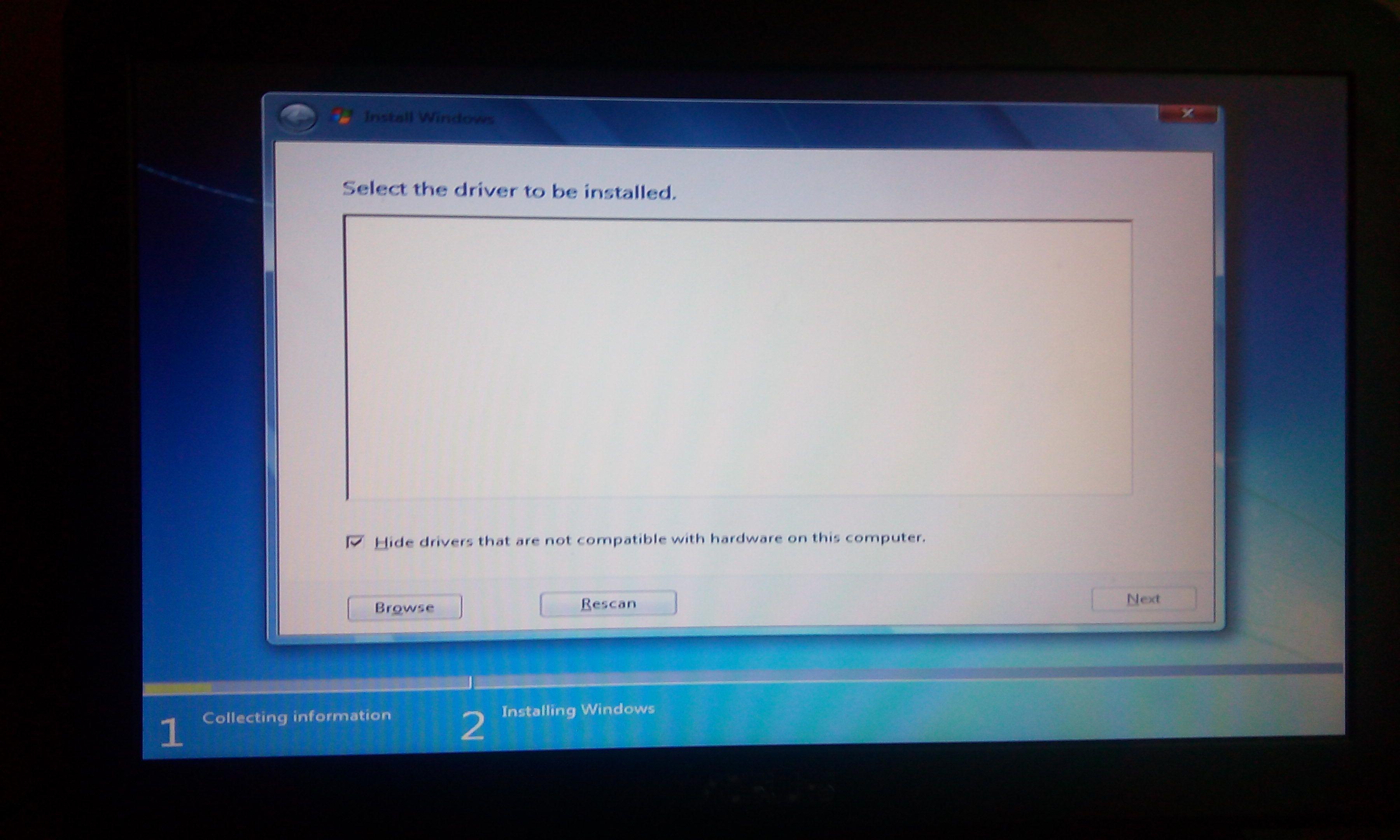 Bilgisayar bir flash sürücü görmüyor