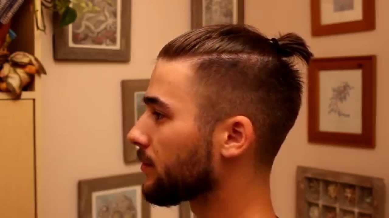 Фото мужских стрижек с косой