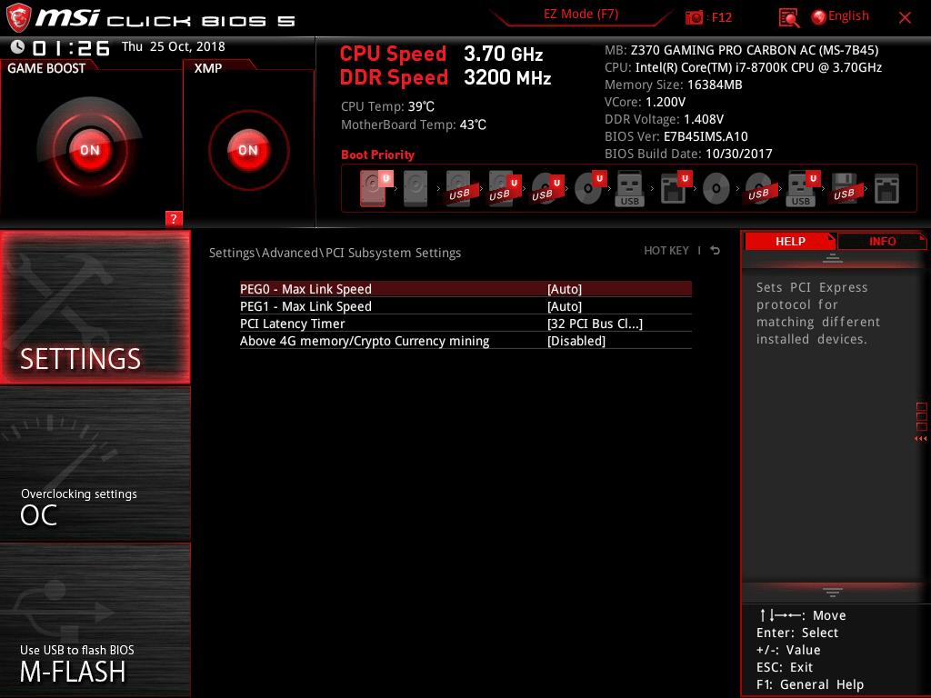 BIOS'taki PCI Latency Timer Ayarı Nedir? - Technopat Sosyal