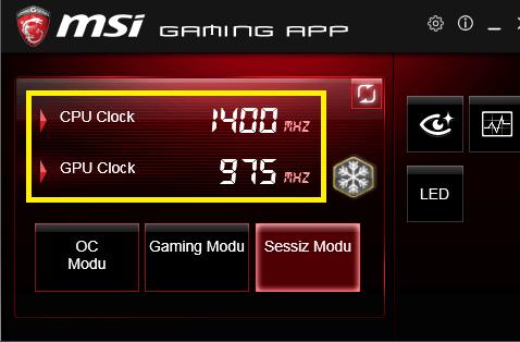 Clock Speed veya Clock Rate Nedir