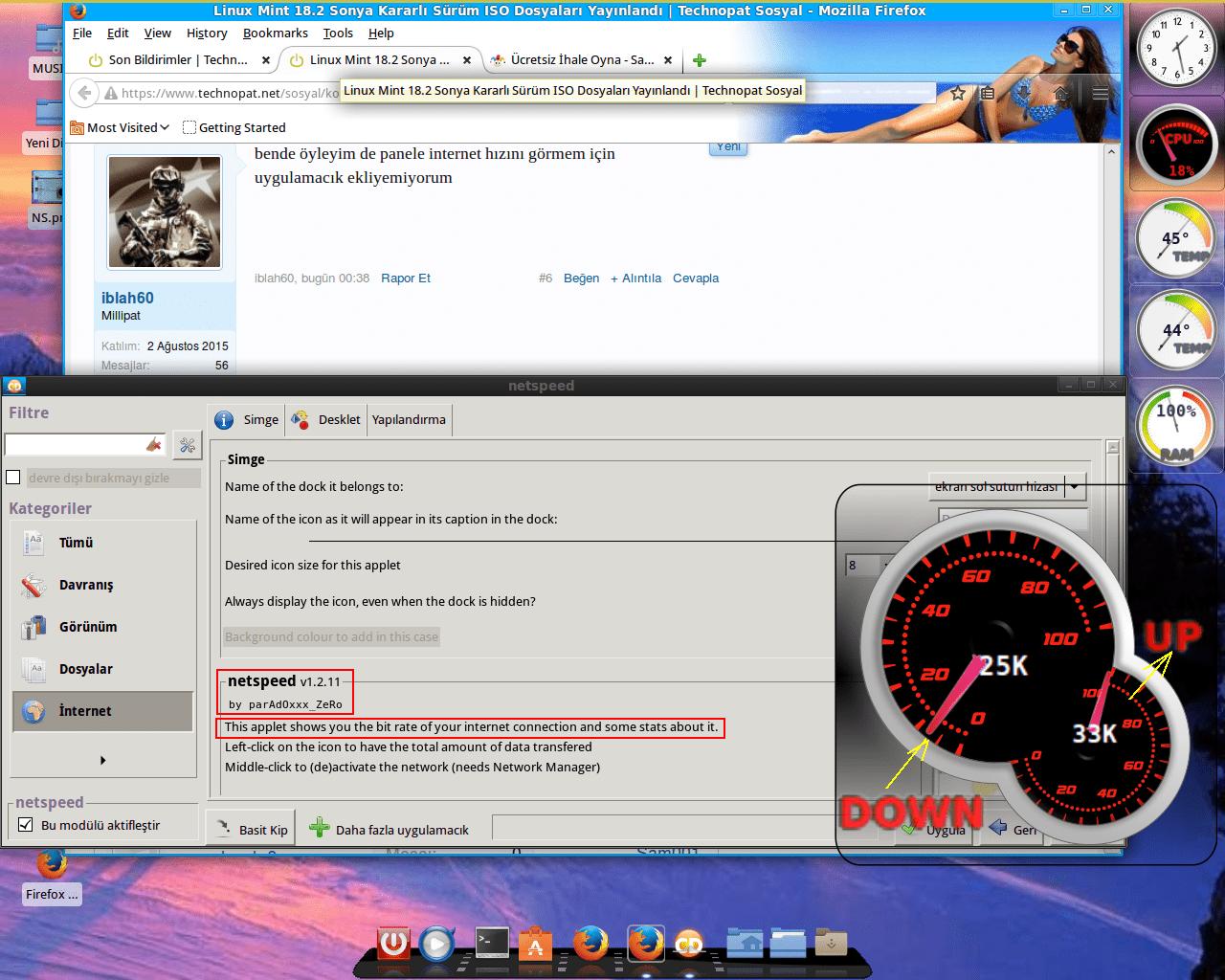 Linux Mint 18 2 Sonya Kararlı Sürüm ISO Dosyaları Yayınlandı