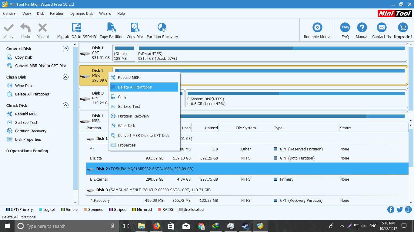 BIOS üzerinden bir sabit diski nasıl biçimlendirebilirim