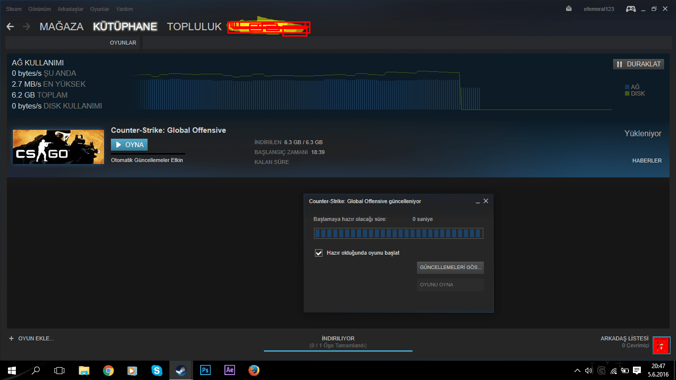 Cs go steam guncelleme hatas? steampay mgs