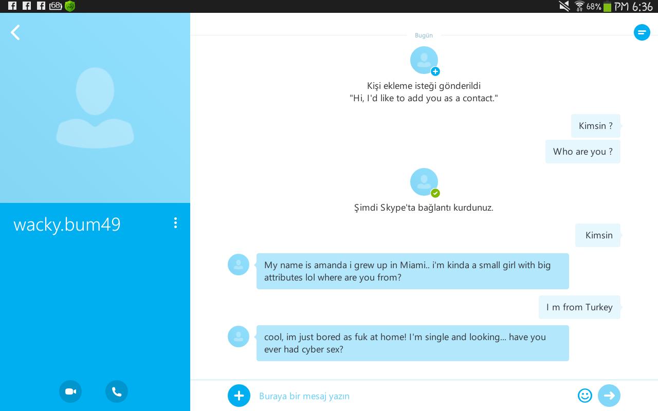 Skypeta mesajlar nasıl silinir. Iki yolu