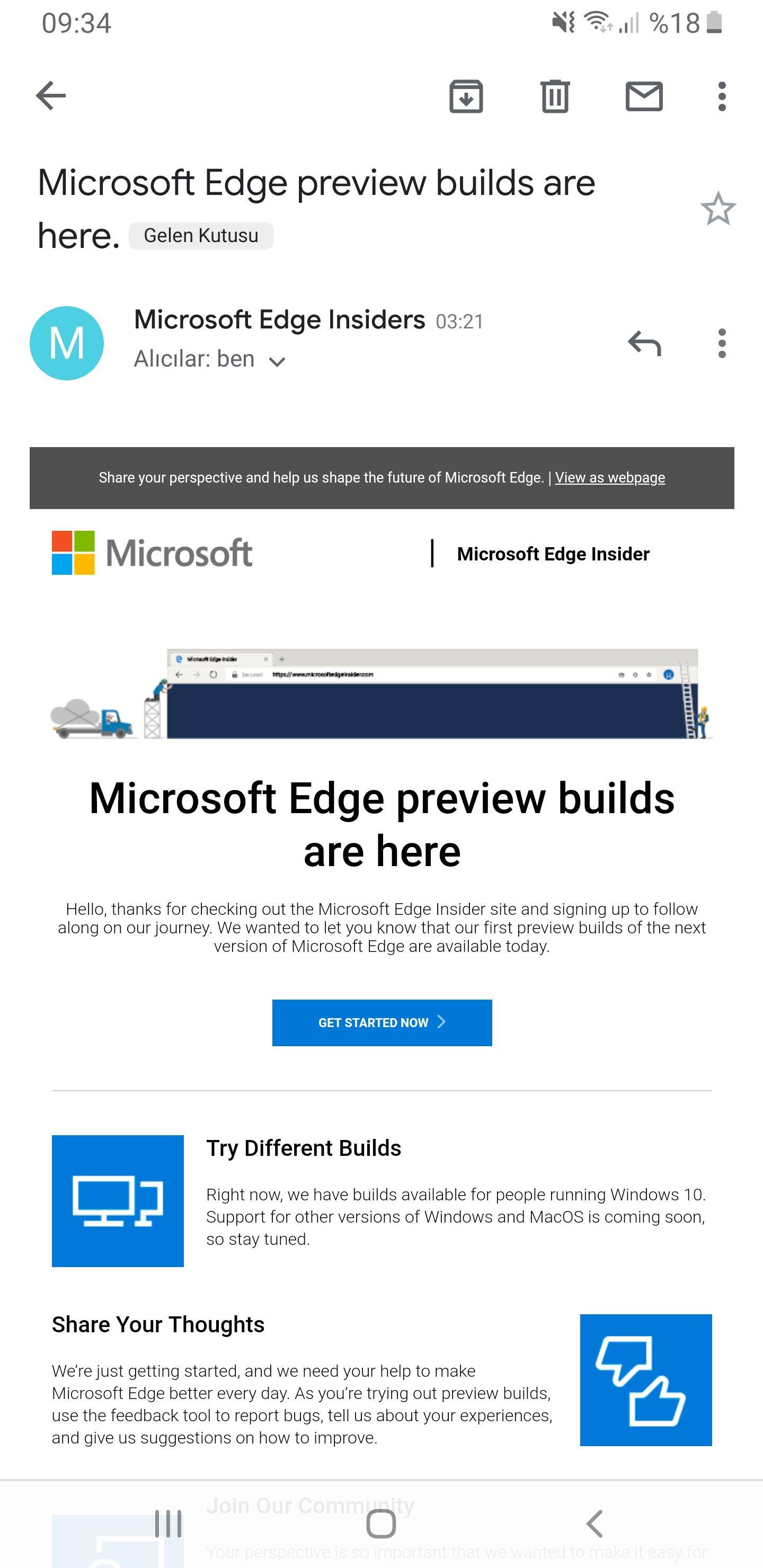 Microsoft Edge Chromium Developer Yayınlandı - Technopat Sosyal