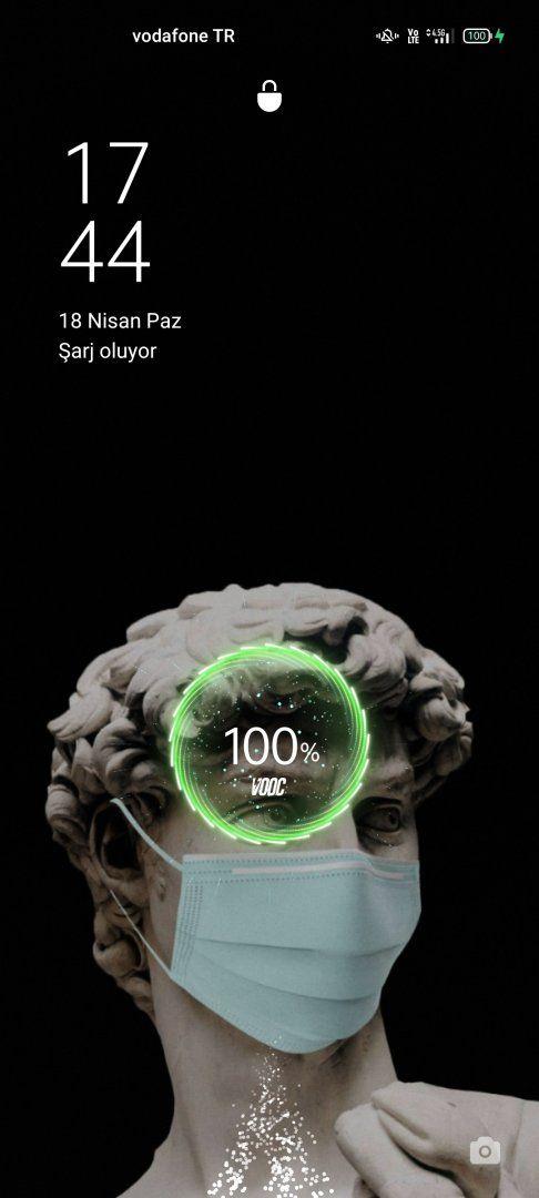 54 dakika içerisinde %1'den %100'e şarj olması.
