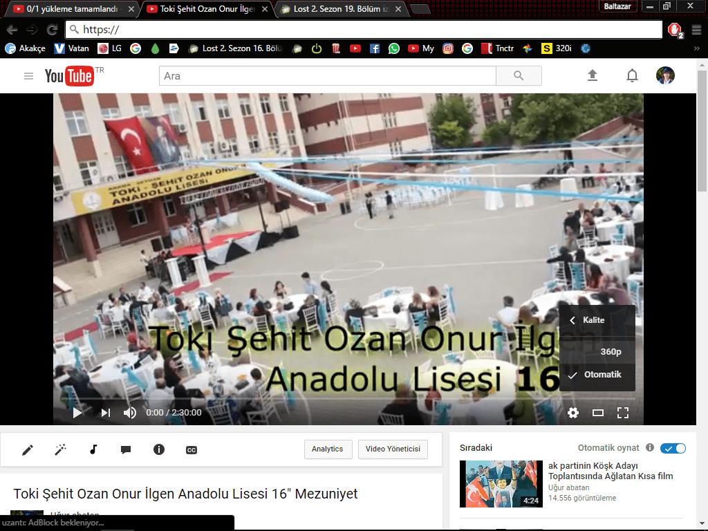 Youtube 1080P upload, 360P olma sorunu - Technopat Sosyal
