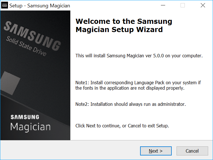 Samsung Magician Software Windows 10