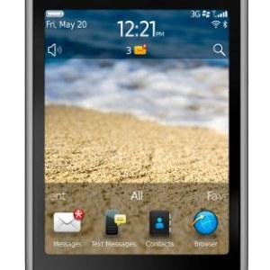 BlackBerry Curve Touch CDMA Özellikleri