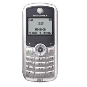 Motorola C123 Özellikleri