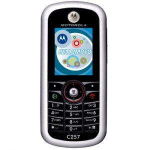 Motorola C257 Özellikleri