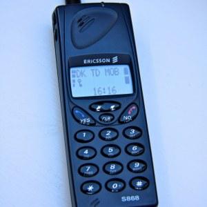 Ericsson S 868 Özellikleri