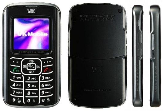 VK Mobile VK2000 Özellikleri