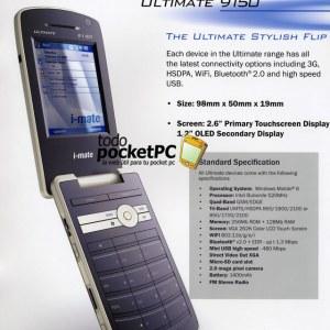 i-mate Ultimate 9150 Özellikleri