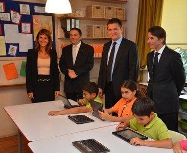 Okulda 3g tablet bilgisayar dönemi