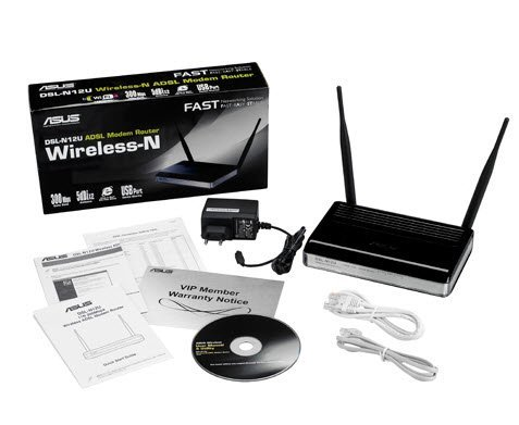 ASUS DSL N12U Wireless N300 ADSL Modem Router 3 ASUS DSL N12U Wireless N300 ADSL Modem Router İncelemesi