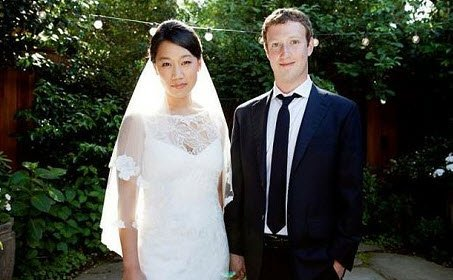 Mark Zuckerberg ve Priscilla Chan Evlendi