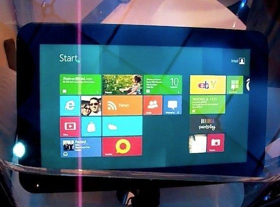Intel Clover Trail Atom işlemcili Windows 8 Tablet Bilgisayar