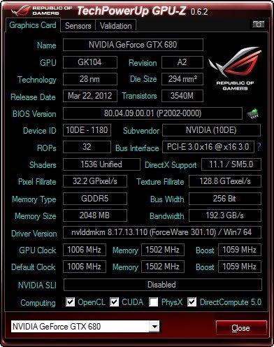 ASUS ROG TYTAN CG8580 Ekran Kartı Detayları