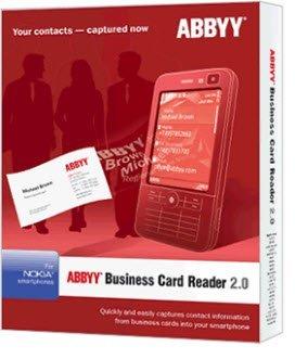 Abbyyy Business Card Reader 2.0
