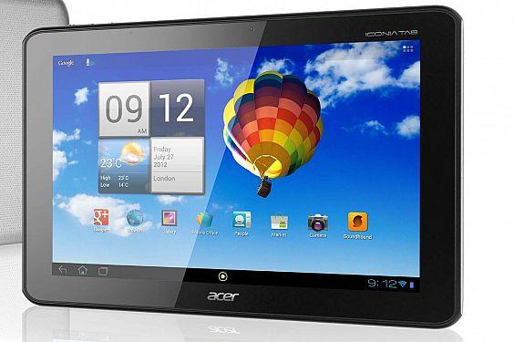 Acer Iconia Tab A700 HD Tablet Bilgisayar: 1920x1200 Çözünürlük!