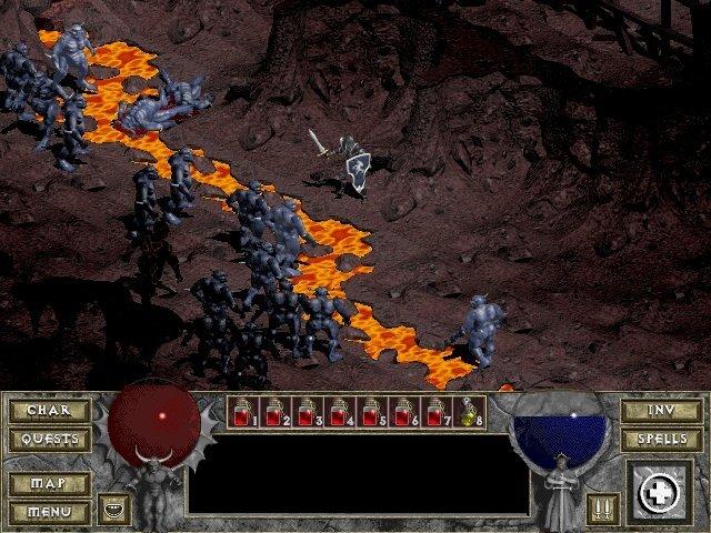 Diablo 1   90ların En İyi 20 Oyunu