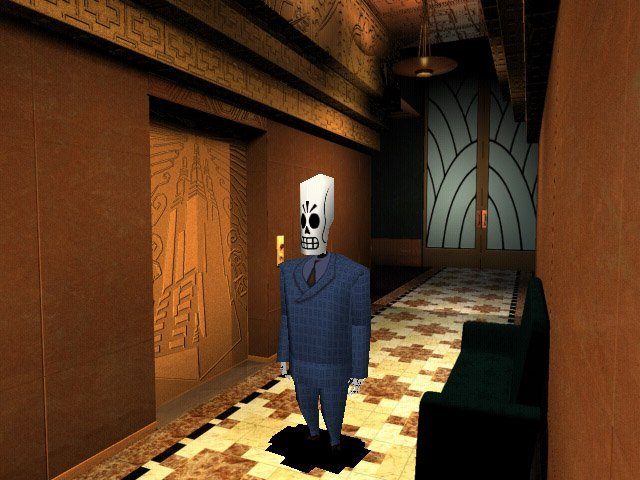 Grim Fandango3   90ların En İyi 20 Oyunu